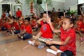 Anak-anak TK Kristen Kalam Kudus Jayapura
