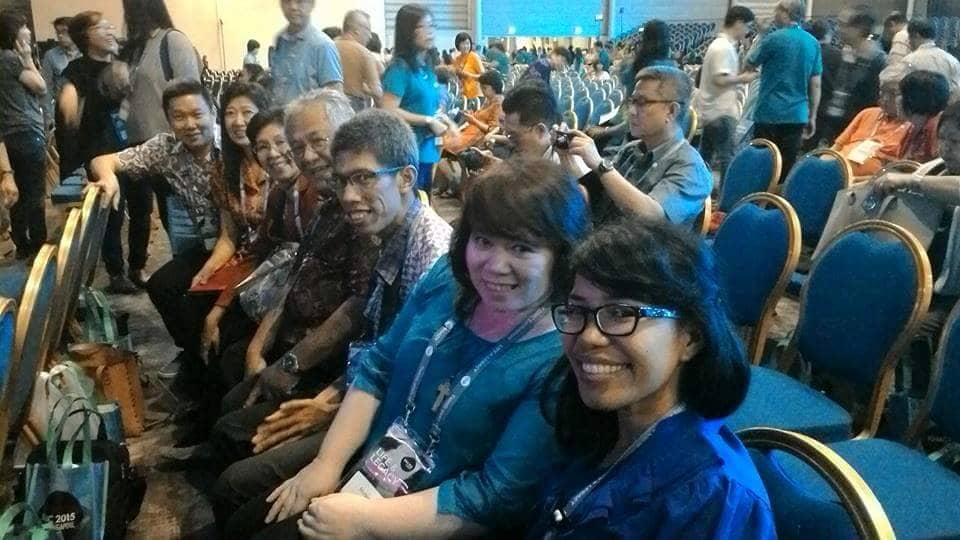 Bersama rekan-rekan Kalam Kudus Solo, Bandung, dan Pekanbaru