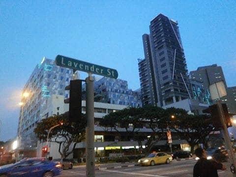 Lokasi ACK Centre di Lavender Street