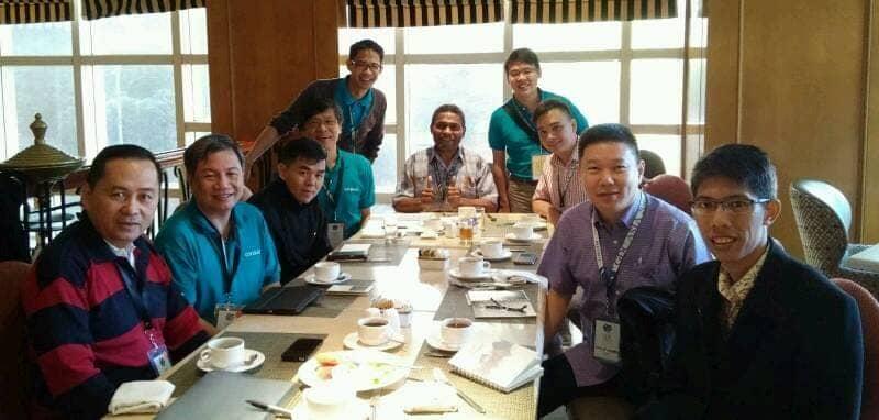 Bersama rekan-rekan dari CEFC Singapura, Kalam Kudus Pekanbaru, dan Kalam Kudus Bandung
