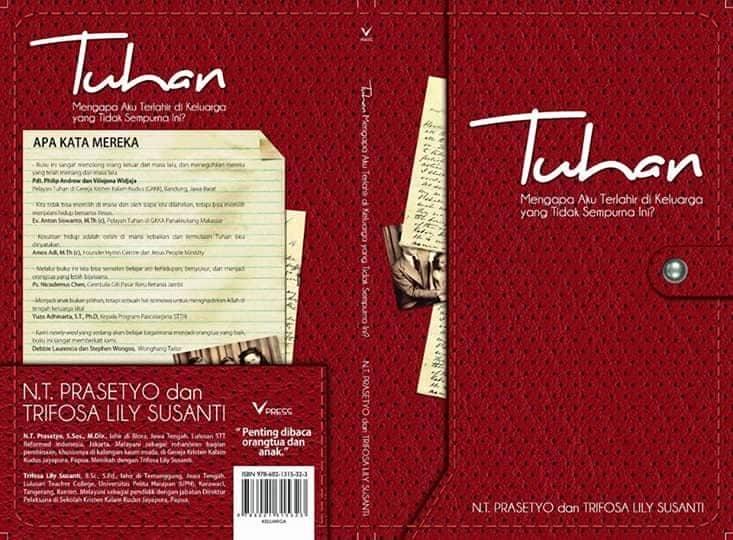 Cover depan dan belakang buku