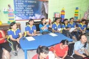 Pembekalan dan Rapat Panitia SAL TK-SD-Sekolah Minggu.