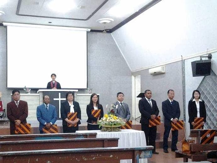 Pelantikan Anggota Yayasan KKI Cab. Jayapura