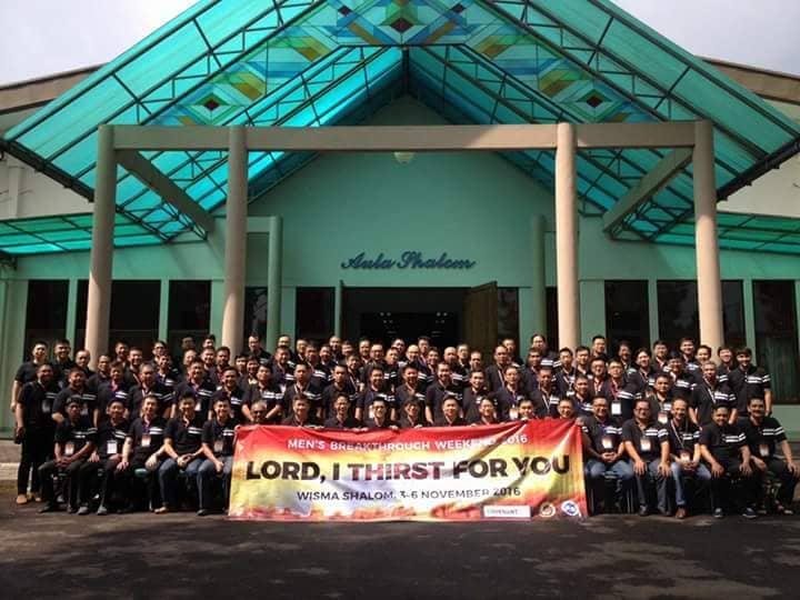 Pekan Terobosan Kaum Pria, GK Kalam Kudus Bandung, Jawa Barat. Wisma Shalom, Lembang, Bandung, 3-6 November 2016