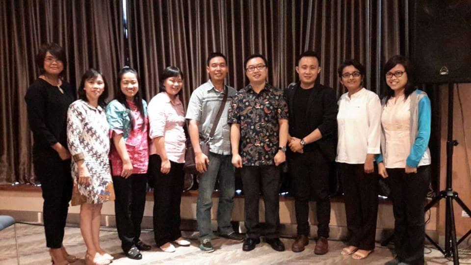 Foto Bersama Para Pemimpin Sekolah Kalam Kudus Se-Indonesia. September 2016, APL Tower, Central Park, Jakarta