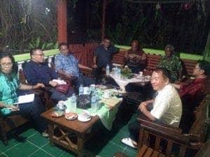 Anggota PGI Wilayah Papua (perwakilan 6 organisasi gereja)