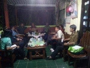 Rapat Persiapan HUT PGI Wilayah Papua di kediaman Pdt. Herman Saut